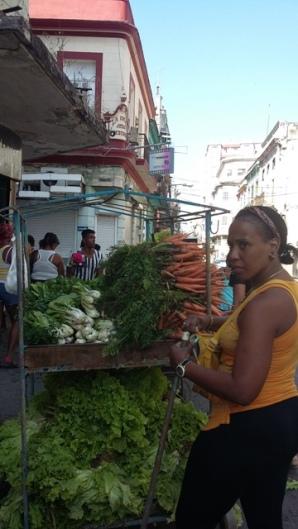 Vendeuse légumes2