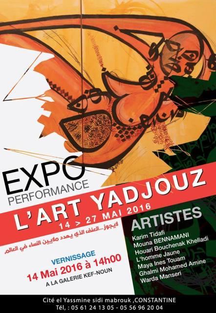 Affiche L'art Yajouz