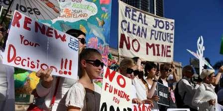 Australia Coral Vs Coal