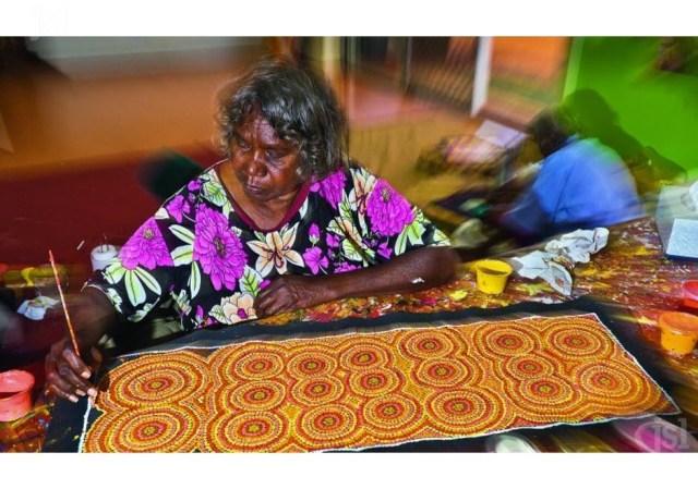 Artiste Aborigène
