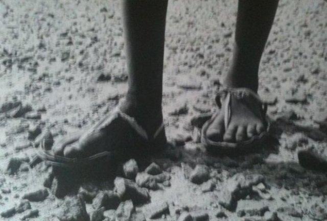 Khelil les pieds