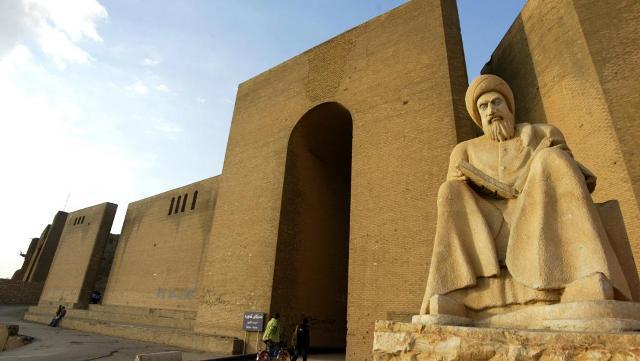 L'une des entrées de la Citadelle d'Erbil, au Kurdistan iraken, site classé au patrimoine mondial de l'humanité par l'UNESCO le 21 juin 2014.