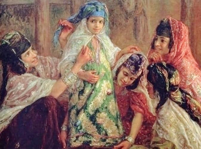 Nasreddine E. Dinet costume-de-fete