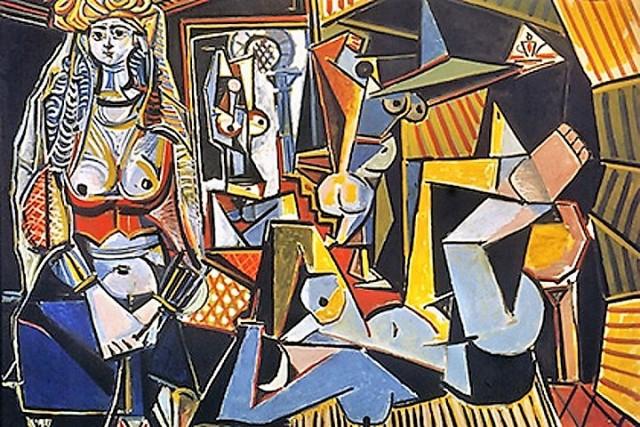 Femmes d'Alger Picasso