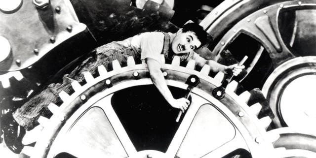 Modern Times,  Charlie Chaplin