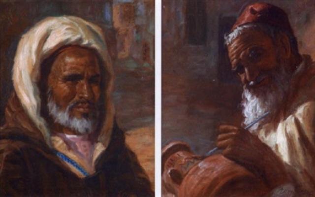 10-miloud-boukerche-personnage-oriental artnet 1920-1979