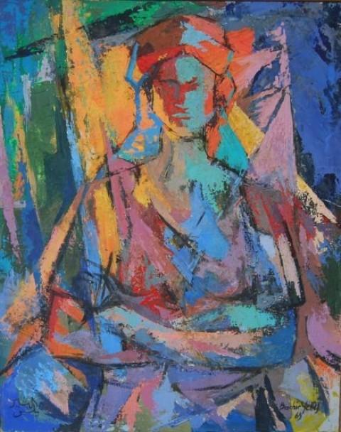 9Bachir-Yelles-buste de femme ADN solution-1921 (2)