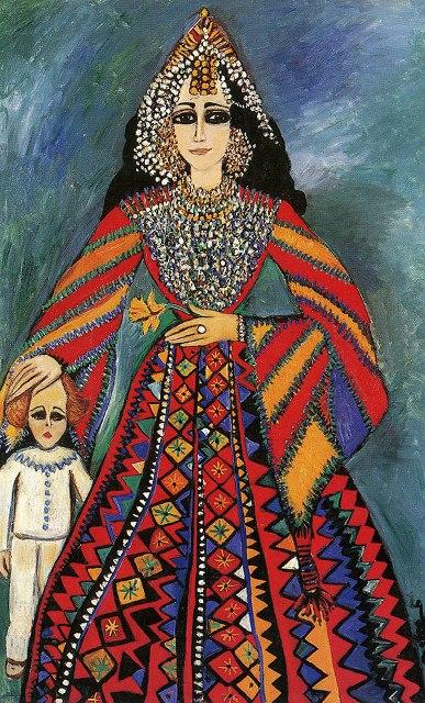 Fahrelnissa Zeid, Divine Protection, 1981