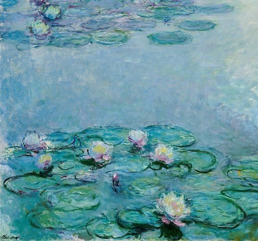 water-lilies-claude-monet Fine art America
