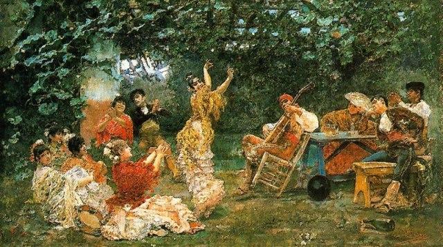 Baile_andaluz_1893_José_Villegas_Cordero Masmoulin - Le Monde
