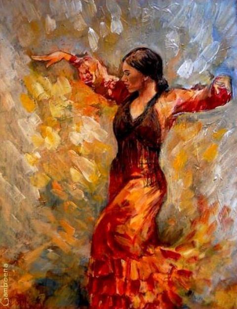 La puissance et la sincérité du Flamenco Isabelle-Jacq-Gamboena