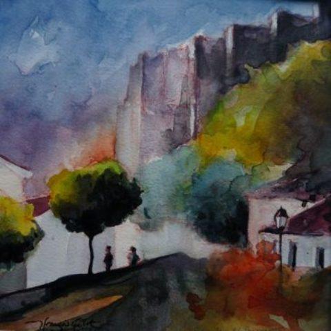 Lumières d'Andalousie @ballades en peintures