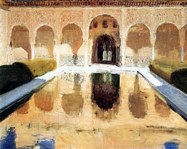 patio-carmen-alhambra-joaquin-sorolla-y-bastida-peinture-andalousie[1]Andalousie culture et histoire