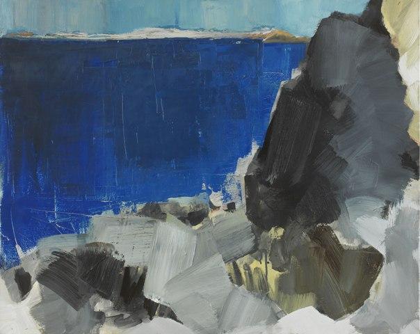 51.-Manolis-Calliyannis-Rochers-noir Artblue