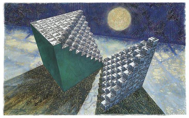 The bedrock oh human artistry Les fondements de l'art humain