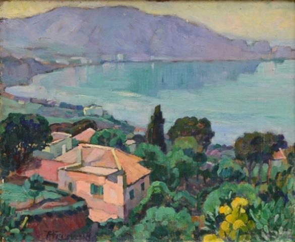 Augustin Ferrando La baie d'Oran