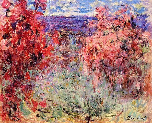 Claude monet arbre à fleurs près de la côte 1920 Pinterest