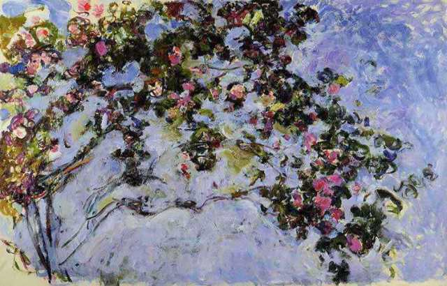 monet Les roses 1925-1926 Geographis2