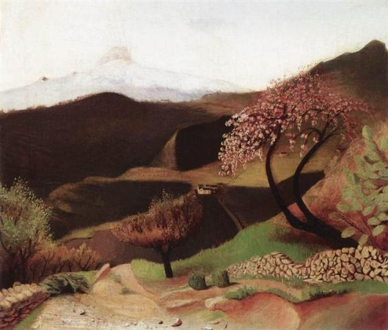 blossoming-almonds-landscape-in-italy-1902.Wikiart