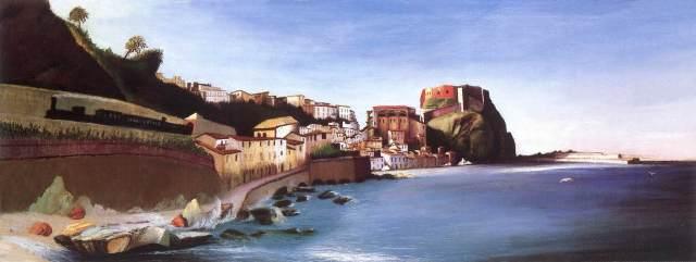 Csontváry_Kosztka,_Tivadar_-_Town_at_the_Seashore_(ca_1902)wikimedia commons