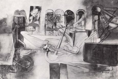Roberto Matta - Le supplice de Djamila 1962