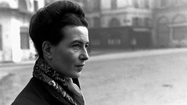 Simone de Beauvoir youtube