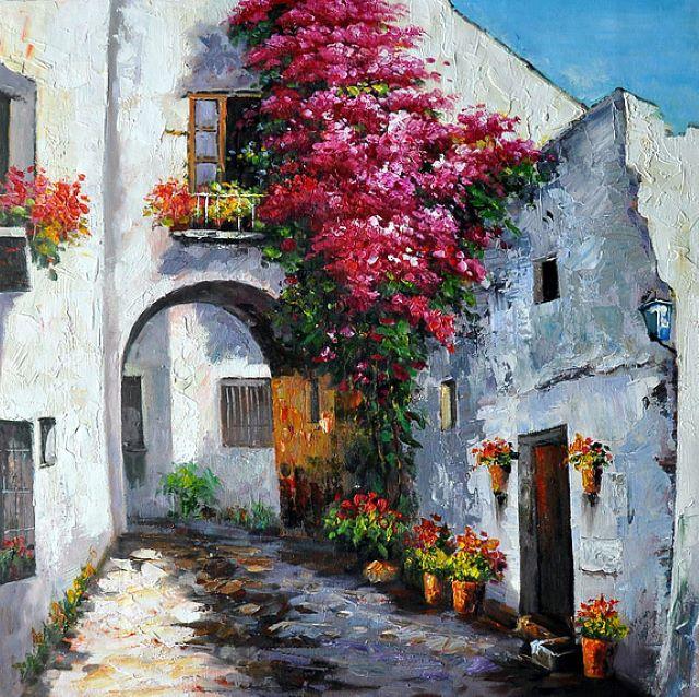 Andalousie. Gilbert De St Amans